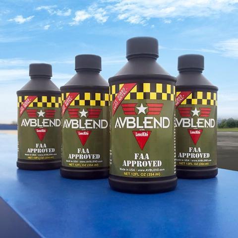 AVBLEND bottles